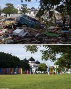 10 Years After the Devastating Tsunami in Indonesia (13 photos) 8