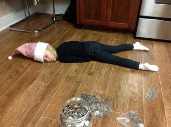 kids can fall asleep anywhere  85 photos