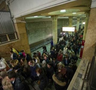 Just an Ordinary Day in the Moscow Metro (19 photos)