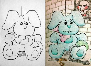 Innocent Coloring Books Ruined by Dirty Minded Persons (33 photos) 1