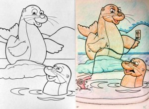 Innocent Coloring Books Ruined by Dirty Minded Persons (33 photos) 13
