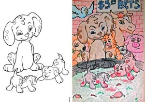 Innocent Coloring Books Ruined by Dirty Minded Persons (33 photos) 15