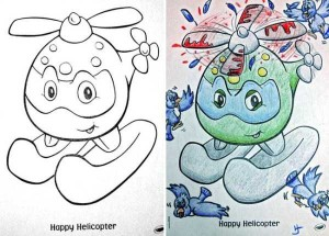 Innocent Coloring Books Ruined by Dirty Minded Persons (33 photos) 18