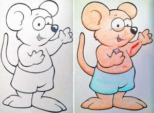 Innocent Coloring Books Ruined by Dirty Minded Persons (33 photos) 2