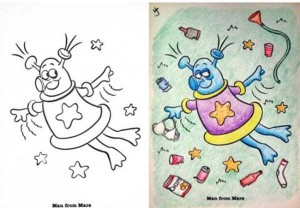 Innocent Coloring Books Ruined by Dirty Minded Persons (33 photos) 33