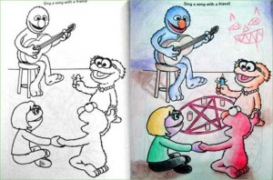 Innocent Coloring Books Ruined by Dirty Minded Persons (33 photos) 6