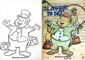 Innocent Coloring Books Ruined by Dirty Minded Persons (33 photos) 7