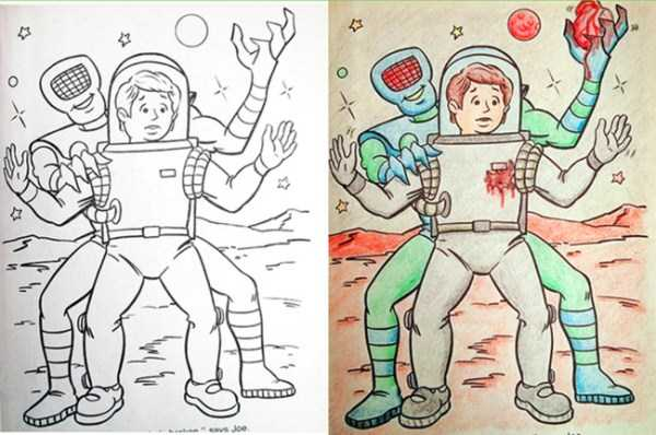 Innocent Coloring Books Ruined by Dirty Minded Persons (33 photos) 8