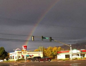Unexpected Things Spotted at the End of a Rainbow (31 photos) 28