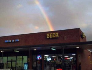 Unexpected Things Spotted at the End of a Rainbow (31 photos) 3