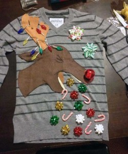 Ridiculously Ugly Christmas-Themed Sweaters (40 photos) 14