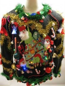 Ridiculously Ugly Christmas-Themed Sweaters (40 photos) 21