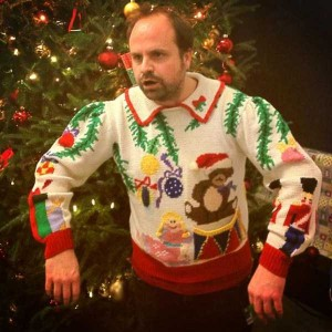 Ridiculously Ugly Christmas-Themed Sweaters (40 photos) 29