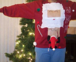 Ridiculously Ugly Christmas-Themed Sweaters (40 photos) 31