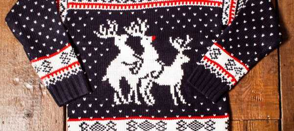 Ridiculously Ugly Christmas-Themed Sweaters (40 photos) 40