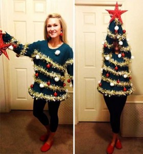 Ridiculously Ugly Christmas-Themed Sweaters (40 photos) 9