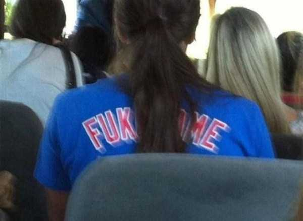 Unintentionally Offensive and Inappropriate Shirts (34 photos) 11