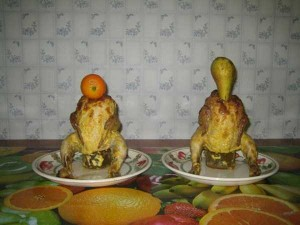 Disturbing Russian Food Art (15 photos) 11