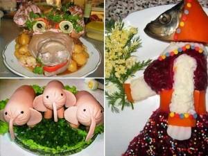 Disturbing Russian Food Art (15 photos) 2