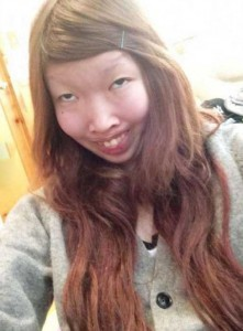 Japanese Girl Reveals Her Real Face (12 photos) 10