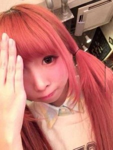 Japanese Girl Reveals Her Real Face (12 photos) 3
