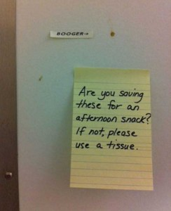 Seriously Funny Bathroom Notes and Signs (76 photos) 18