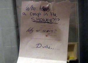 Seriously Funny Bathroom Notes and Signs (76 photos) 2