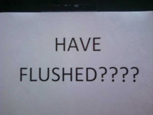 Seriously Funny Bathroom Notes and Signs (76 photos) 28