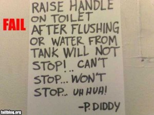 Seriously Funny Bathroom Notes and Signs (76 photos) 3