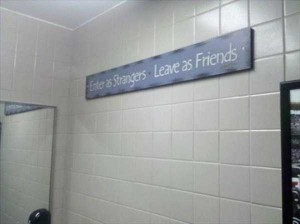 Seriously Funny Bathroom Notes and Signs (76 photos) 43