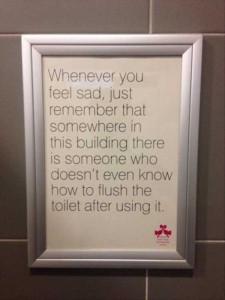 Seriously Funny Bathroom Notes and Signs (76 photos) 44