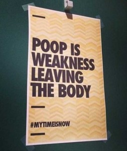 Seriously Funny Bathroom Notes and Signs (76 photos) 45