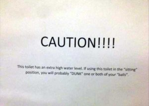 Seriously Funny Bathroom Notes and Signs (76 photos) 51