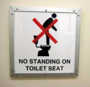 Seriously Funny Bathroom Notes and Signs (76 photos) 62