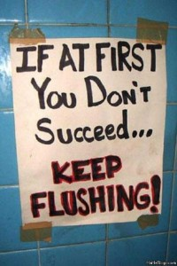 Seriously Funny Bathroom Notes and Signs (76 photos) 8