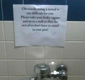 Seriously Funny Bathroom Notes and Signs (76 photos) 9