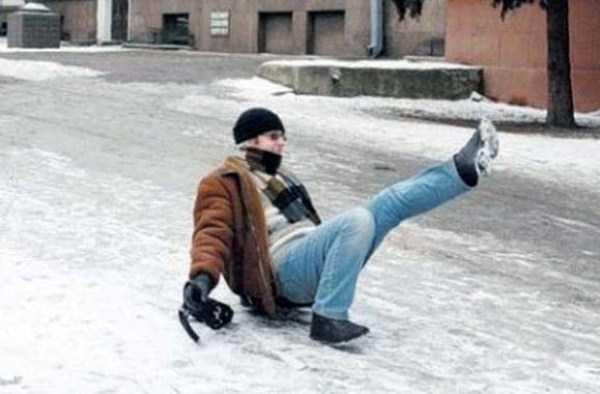 People Slipping On Ice 29 Photos Klyker Com