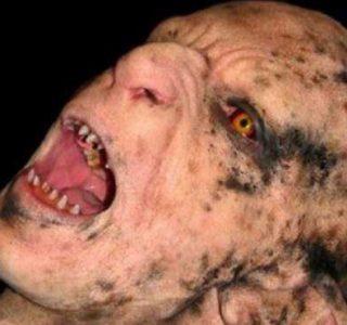Stunningly Realistic Monster Makeup (12 photos)