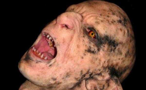 Stunningly Realistic Monster Makeup (12 photos) 13