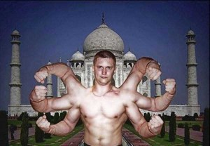 Comically Photoshopped Russian Social Media Profile Photos (36 photos) 10