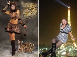 Comically Photoshopped Russian Social Media Profile Photos (36 photos) 30