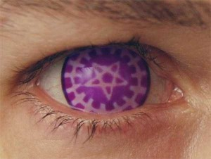 Freaky Contact Lenses that are Meant to Scare People (30 photos) 29