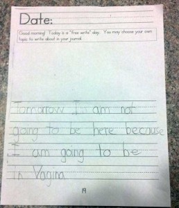 Hilarious Spelling Mistakes Made by Kids (21 photos) 11