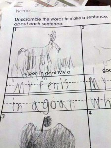 Hilarious Spelling Mistakes Made by Kids (21 photos) 21