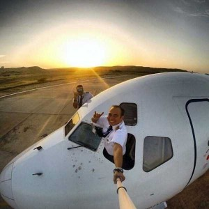 Awesome Selfies Taken by Pilots (24 photos) 10