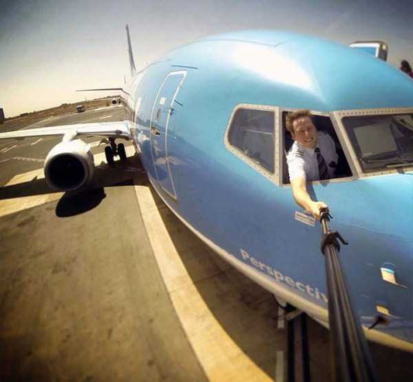 awesome selfies taken by pilots klyker com