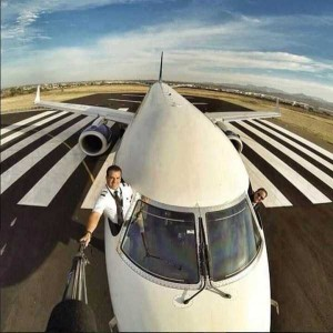 Awesome Selfies Taken by Pilots (24 photos) 12