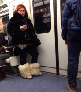 Subway Fashion: Russian Edition (36 photos) 26