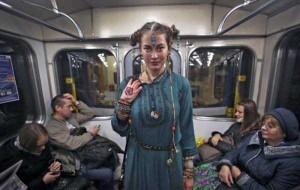 Subway Fashion: Russian Edition (36 photos) 30