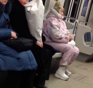 Subway Fashion: Russian Edition (36 photos) 32